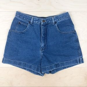 Vintage 80s Giorgio Sant'Angelo High Rise Shorts